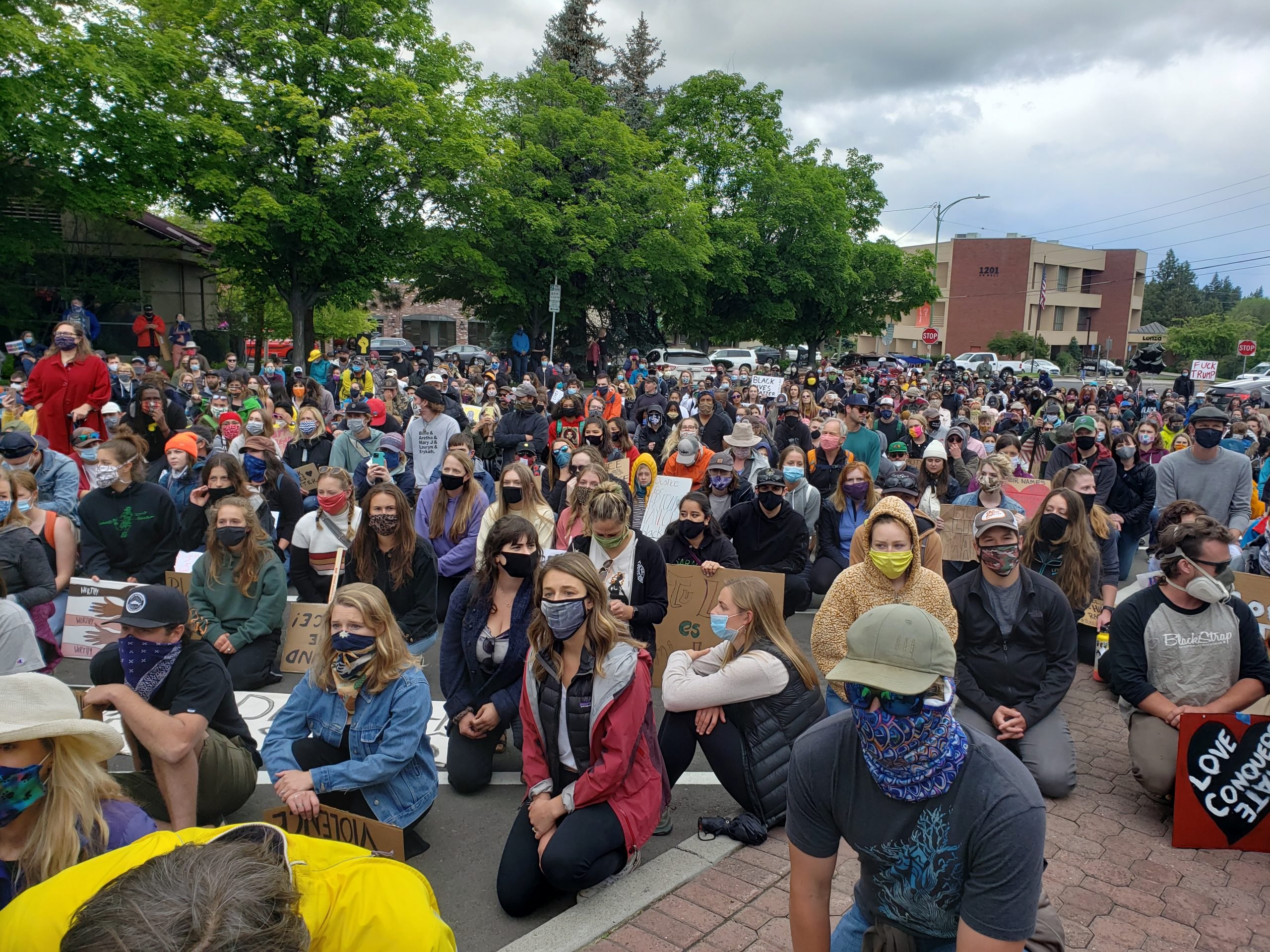 March Against Racism in Bend Oregon